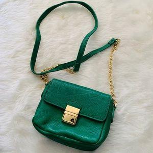 Gorgeous Forever 21 Emerald Green Mini Purse